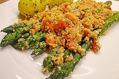 Spargel mit Parmesan-Kruste 5