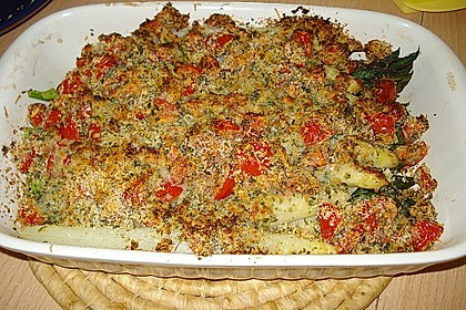 Spargel mit Parmesan-Kruste 28