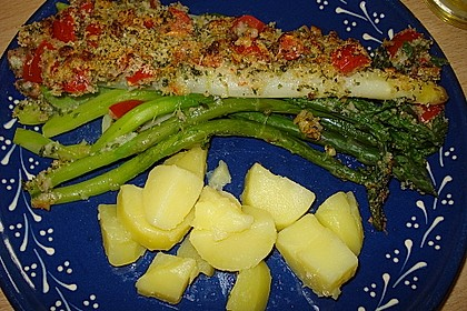 Spargel mit Parmesan-Kruste 27