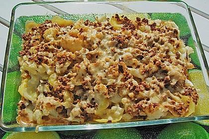 Hackfleisch - Kartoffel - Gemüse - Auflauf 1