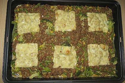 Hackfleisch - Kartoffel - Gemüse - Auflauf 9