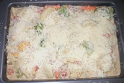Hackfleisch - Kartoffel - Gemüse - Auflauf 11