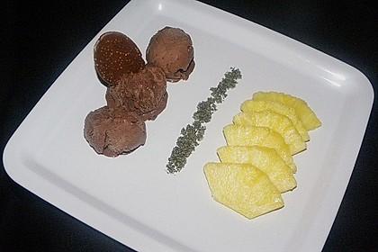 Ananasspalten mit Minz - Zucker - Pesto 10