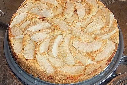 Versunkener Apfelkuchen 8