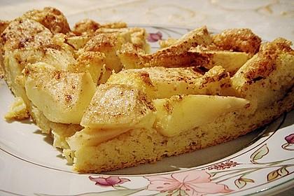 Versunkener Apfelkuchen 1