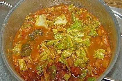 Bohnensuppe aus der Toskana