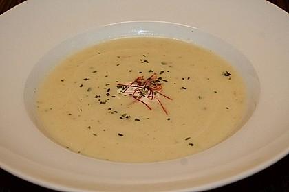 Kohlrabi - Thymian Suppe 1