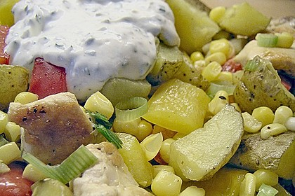 Country - Kartoffelsalat mit Huhn 2
