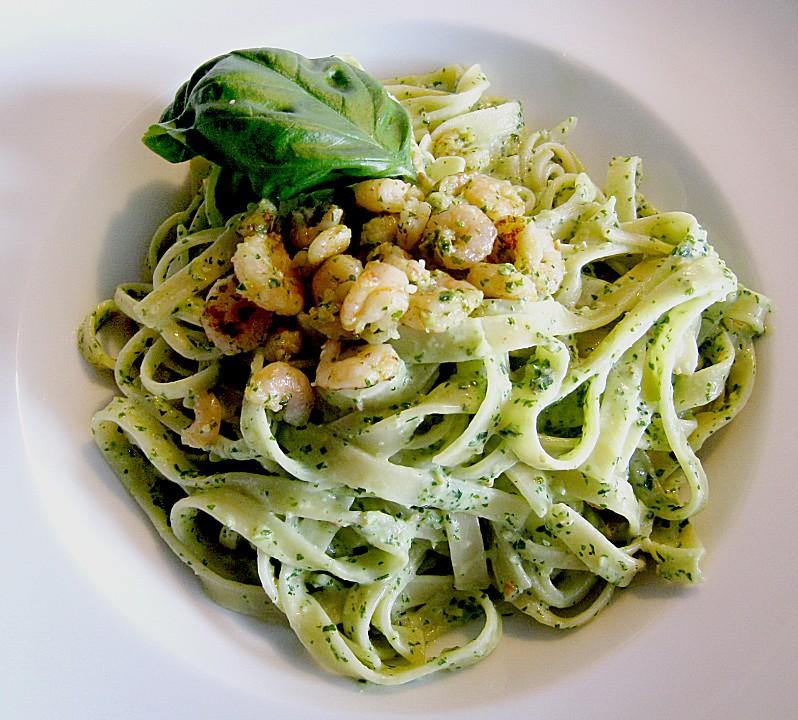 Spaghetti Al Pesto Von Buddelinchen Chefkoch
