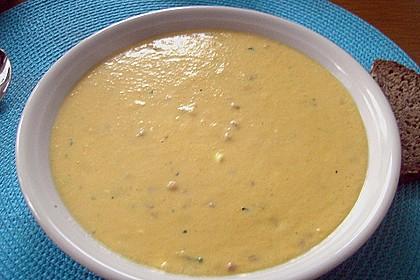 Maissuppe mit Möhren 7
