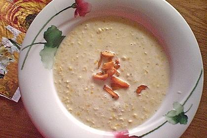 Maissuppe mit Möhren 3