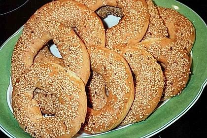 Sesamringe auf türkische Art und Weise 45