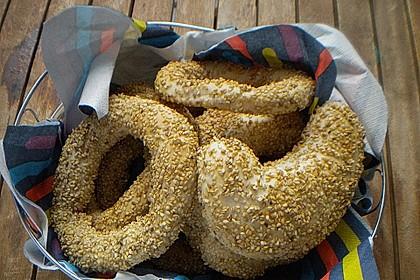 Sesamringe auf türkische Art und Weise 52