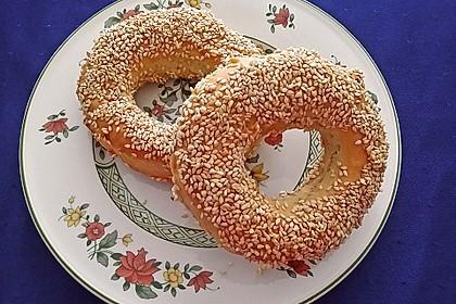 Sesamringe auf türkische Art und Weise 20