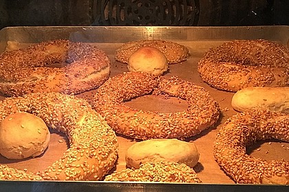 Sesamringe auf türkische Art und Weise 55