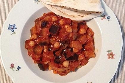 Arabischer Auberginen-Eintopf 1