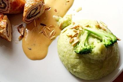 Brokkoli-Kartoffelstampf mit Wasabi und Sesam 1