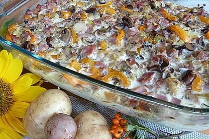 Herbstlicher Kartoffel-Gemüse-Auflauf 1