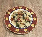 Pasta Scampi e Spinaci (Bild)