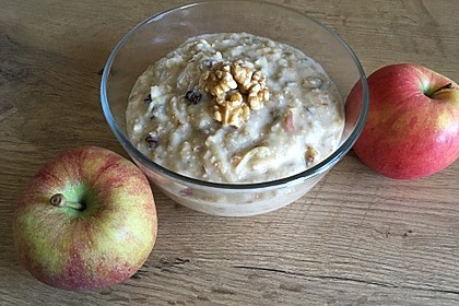 """Porridge à la """"Apfelstrudel"""" 2"""