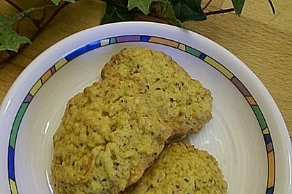 Knusprige Power-Cookies mit Kürbis und Chia-Samen