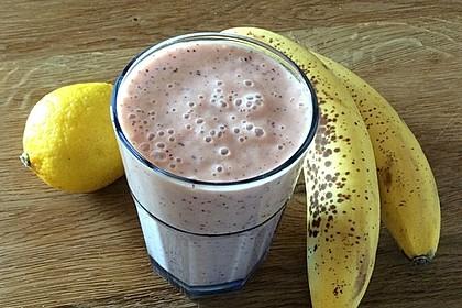 Zwetschgen-Bananen-Dickmilch