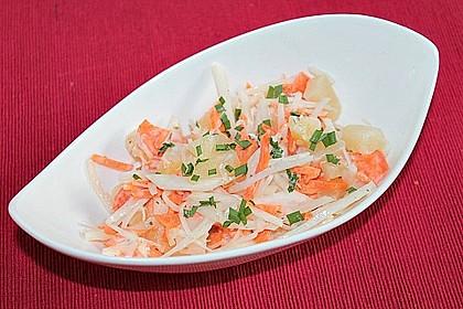 Schwarzer Rettich-Karotten-Salat 1