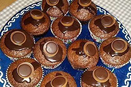 Schokoladige Toffifee-Muffins (Bild)