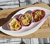 Herzhafte LowCarb Muffins (Bild)