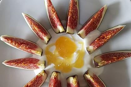 Feigen mit Joghurt-Honigsauce 2