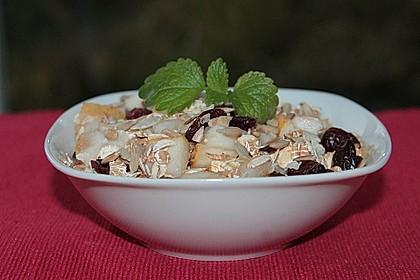 Fruchtiges 5 Korn-Birnen-Cranberry-Müsli