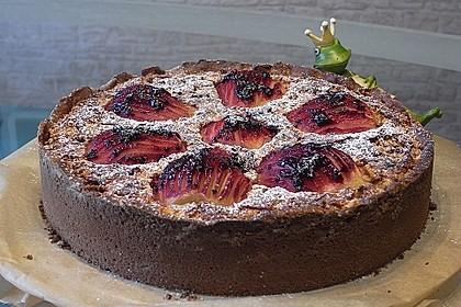 Urmelis Birnen-Mandel-Schoko-Kuchen