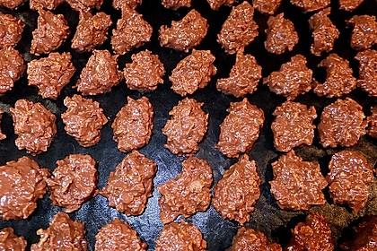 Marzipan Choco-Crossies