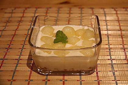 Honigmelone-Trifle