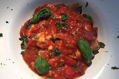 Nudeln mit Tomaten-Mozzarella Soße 2