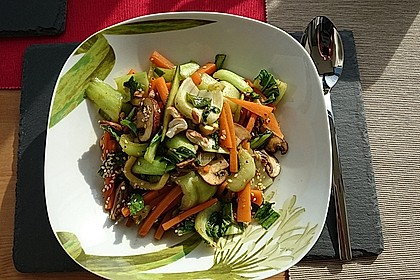 Schnelle Asia-Gemüsepfanne 1