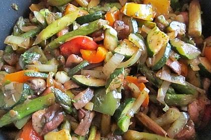 Schnelle Asia-Gemüsepfanne 2