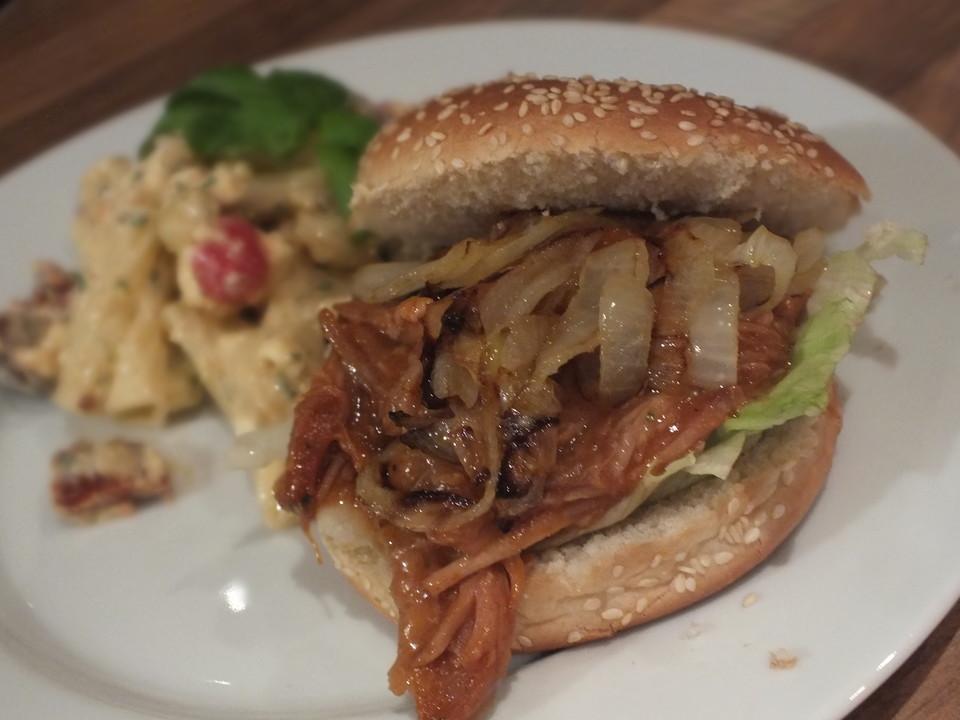 Pulled Pork Gasgrill Chefkoch : Pulled pork aus dem ofen von waschbär chefkoch