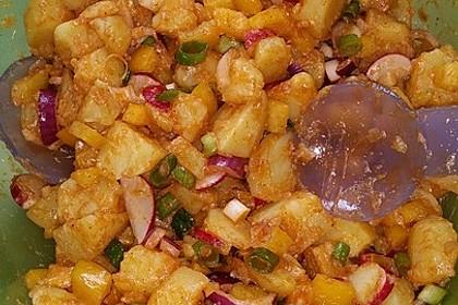 Türkischer Kartoffelsalat mit buntem Gemüsemix 6