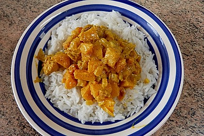 krümeltigers Quitten-Curry