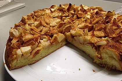 Urmelis dicker Apfel-Butter-Kuchen (Bild)
