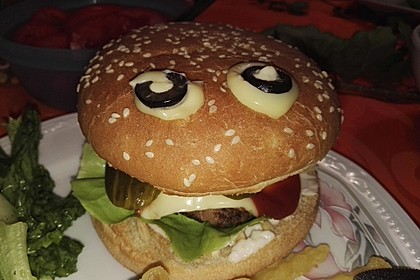 Halloween Grusel-Burger 2