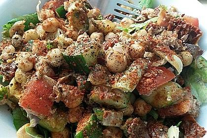 Kichererbsensalat mit Thunfisch und getrockneten Tomaten 1