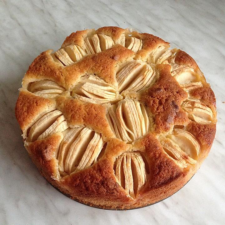 Apfel Keks Kuchen Von Sekatie Chefkoch De