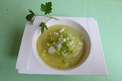 Kartoffel-Lauch-Suppe (Bild)