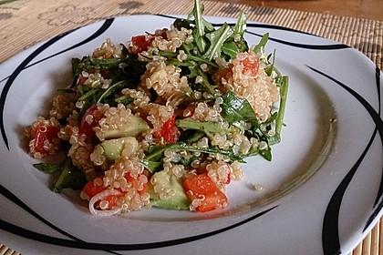 Inkasalat - würziger Quinoasalat mit Avocado und Rucola 12