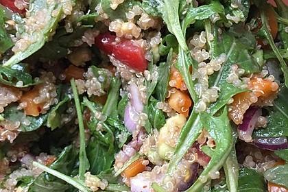 Inkasalat - würziger Quinoasalat mit Avocado und Rucola 19