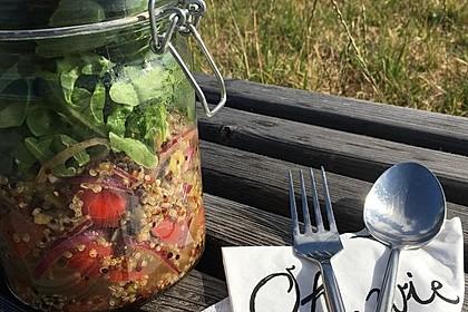 Inkasalat - würziger Quinoasalat mit Avocado und Rucola 14