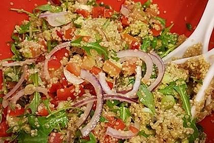 Inkasalat - würziger Quinoasalat mit Avocado und Rucola 17