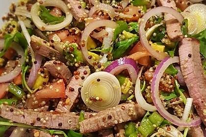 Inkasalat - würziger Quinoasalat mit Avocado und Rucola 8
